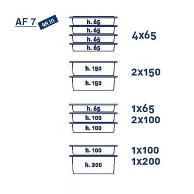 Termoport Melform AF 7 - GN 1/1 - 4