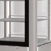 Chladicí vitrína Scaiola 400F, 400 l - 700 x 700 x 1840 mm - 230 V - 4/5