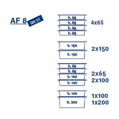 Termoport Melform AF 8 - GN 1/1 - 4