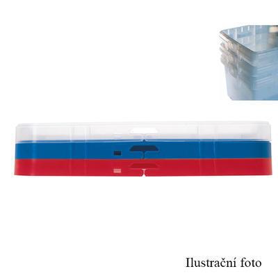 Stohovatelný přepravní box 32 litrů, box 32 l - 40 x 40 x 31,5 cm - 4