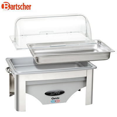 Chafing dish GN 1/1-65 mm Cool and Hot Bartscher, 9 l - GN 1/1-65 mm - 0,7 kW / 230 V - 4