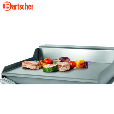 Grilovací deska 260E hladká Bartscher, 304 x 322 x 182 mm - 1,2 kW / 230 V - 9,2 kg - 4