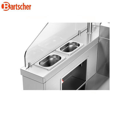 Mobilní front cooking stanice Bartscher - 4
