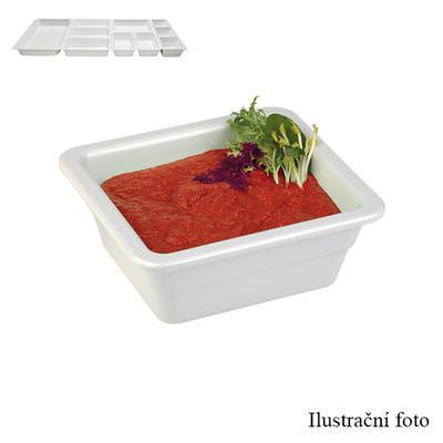 Gastronádoba melaminová hloubka 65 mm, GN 1/2 - 32,5 x 26,5 cm - 3,0 l - 4