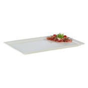 Gastronádoba melaminová hloubka 30 mm, hranatý tvar - 370 x 370 mm - 4/5