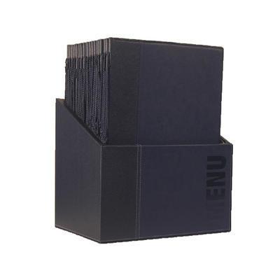 Box s jídelními lístky Trendy, zelená - 20 JL + box - A4 - 4