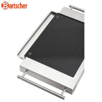Grilovací deska keramická hladká Bartscher - 4
