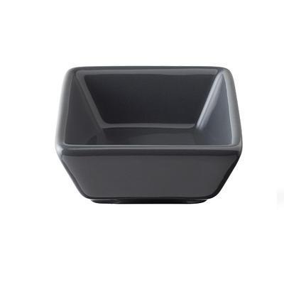 Miska porcelánová Basic barevná, černá - 76 x 76 x 35 mm - 0,06 l - 4