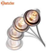 Infračervená lampa stolní Bartscher, 200 x 250 x 700 mm - 0,25 kW / 230 V - 6,1 kg - 4/4