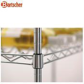 Regál na víno Bartscher, 915 x 355 x 1370 mm - 100-130 ks lahví - 12,5 kg - 4/5