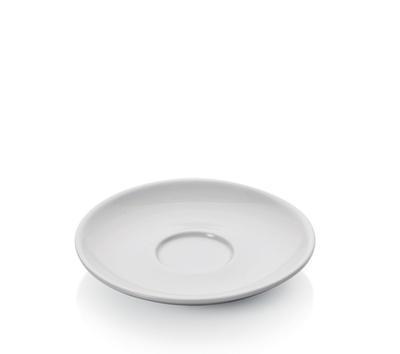 Šálek a podšálek na espresso Italia, šálek bílý - 6 x 6,5 cm - 0,09 l - 4