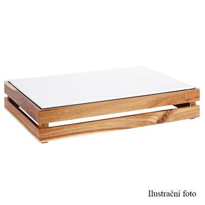 Bufetový systém Megabox dřevo, pro GN 1/2 - 350 x 290 x 105 mm - 4