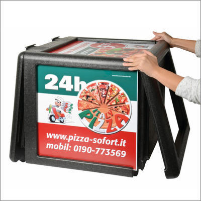 Termobox Pizza Frontloader 100 l - 4