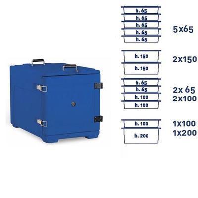 Termoport Melform AF 8 - GN 1/1, šedá - 68 l - 11,5 kg - 4