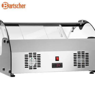 Chladicí vitrína 105 l samoobslužná Bartscher, 700 x 880 x 410 mm - 0,105 kW / 220-240 V - 38 kg - 4