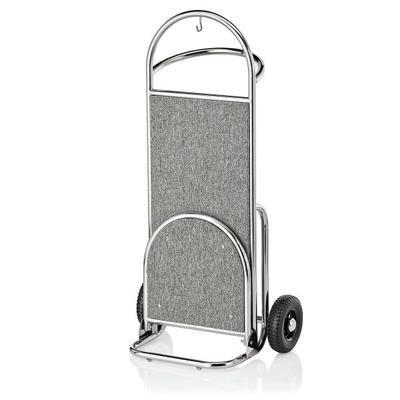 Recepční vozík Suite, zlatá - bordó - 61 x 70,5 x 121 cm - 4