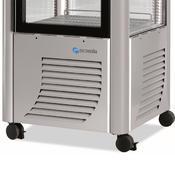 Chladicí vitrína Scaiola 400F, 400 l - 700 x 700 x 1840 mm - 230 V - 5/5