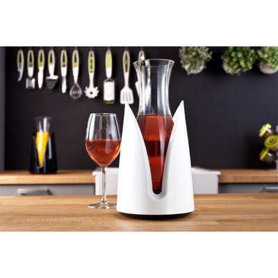 Chladič nápojů s karafou, bílý - 15 x 29,5 cm - 5