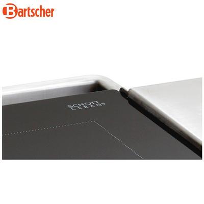 Grilovací deska keramická hladká Bartscher - 5