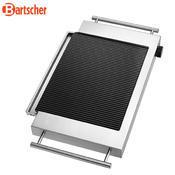 Grilovací deska keramická rýhovaná Bartscher, 640 x 365 x 63 mm - 1,2 kW / 220-240 V - 4,3 kg - 5/5