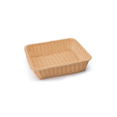 Koš na pečivo bufetový GN tmavý, GN 1/2-65 - 32,5 x 26,5 x 6,5 cm - tmavé - 5