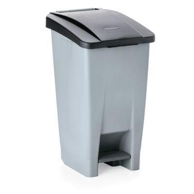 Odpadkový koš 60, 80 a 120 l s víkem, 60 l - 38 x 49 x 70 cm - modré víko - 5