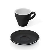 Šálek a podšálek na espresso Italia, šálek bílý - 6 x 6,5 cm - 0,09 l - 5/5