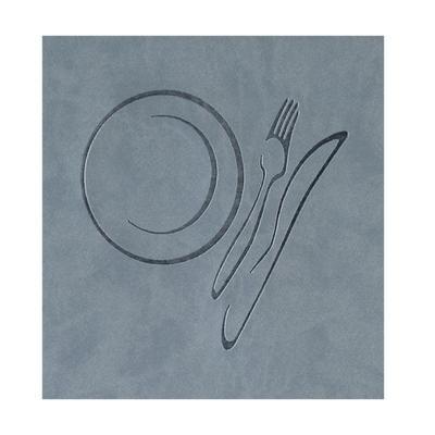 Jídelní lístek Culinaria, A5 - espresso - cihlová - 19 x 24 cm - 6