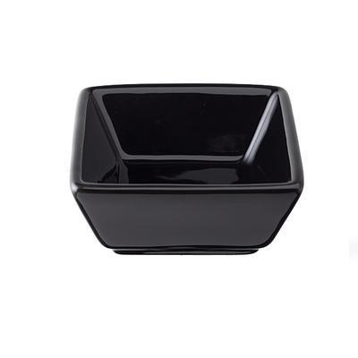 Miska porcelánová Basic barevná, černá - 76 x 76 x 35 mm - 0,06 l - 6