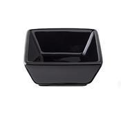 Miska porcelánová Basic barevná, černá - 76 x 76 x 35 mm - 0,06 l - 6/7