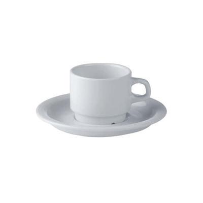 Šálek a podšálek kávový Oslo, podšálek Oslo - 16 cm - 6