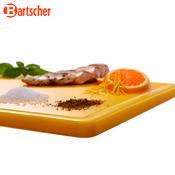 Prkno krájecí barevné PRO Bartscher, žluté - 530 x 325 x 24 mm - 3,2 kg - 6/6
