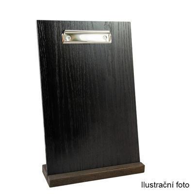 Desky s klipem na menu, A5 - 17 x 24 x 0,4 cm - přírodní světlá - 6