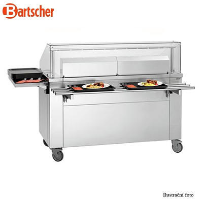 Mobilní front cooking stanice Bartscher - 7