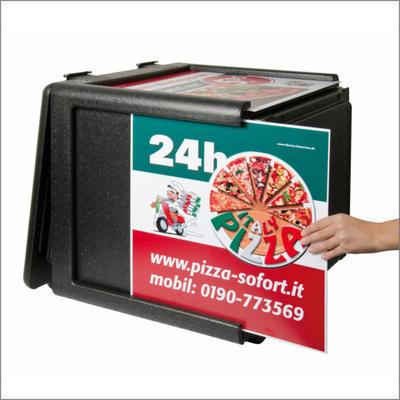Termobox Pizza Frontloader 100 l - 7