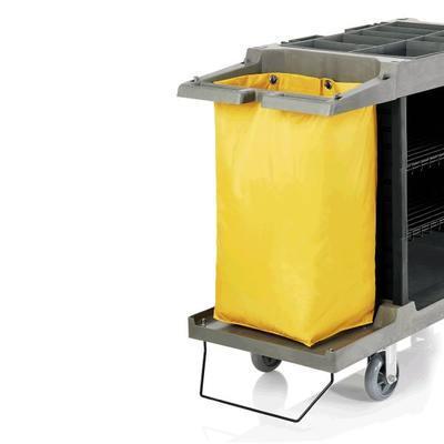 Náhradní pytle pro vozíky na prádlo, vak k 4421 černý - 60 x 35 x 75 cm - NYLON - 7
