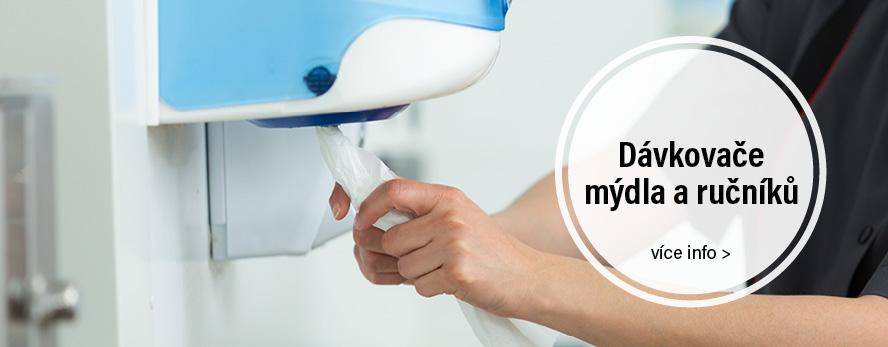 davkovace mydla a rucniku